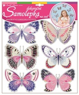 Wall Sticker 30,5x30,5 cm, holographic Butterflies