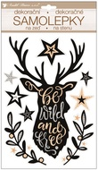 Sticker 36 x 21 cm, Pop up, Deer