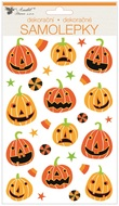 Sticker 3D 14 x 25 cm, Pumpkins