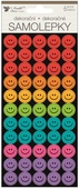 Sticker Smiley Faces 6 sheets/300 pcs 9,5 x 21 cm