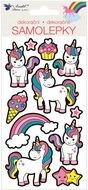 Sticker 3D 9,5 x 21 cm, Unicorns