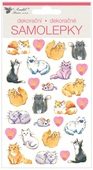 Stickers 19x10 cm, Cats