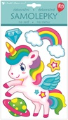 Balloon 3D Wall Sticker Unicorn 15 x 26 cm