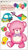 Balloon 3D Wall Sticker Teddy Bear 15 x 26 cm