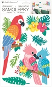 Wall Stickers 24 x 42 cm, Parrots