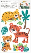 Wall Stickers 24 x 42 cm, Tigers