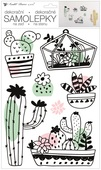 Wall Stickers 24 x 42 cm, Cactuses
