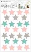Wall Stickers 24 x 42 cm, Stars