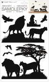 Wall Stickers 24 x 42 cm, Lions