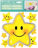 Lamp Sticker LED, 18 cm, Star