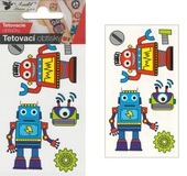 Tattoo Stickers 10,5x6 cm - Robots