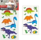 Tattoo Stickers 10,5x6 cm - Small Dinos