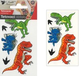 Tattoo Stickers 10,5x6 cm - Big Dinos