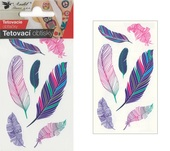Tattoo Stickers 10,5x6 cm - Feathers