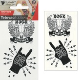 Tattoo Stickers 10,5x6 cm - Rock