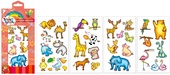 Tattoo Stickers 15x8,5 cm, Animals