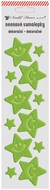 Neon Sticker Stars, Yellow, 7x28,5 cm
