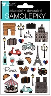 Stickers Paris 15 x 10 cm