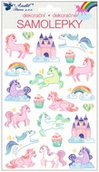 Stickers Unicorns Embossed 21 x 14 cm