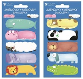 Name Sticker 8x16 cm, Animals