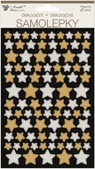 Stickers Stars 14 x 15 cm, 2 Sheets