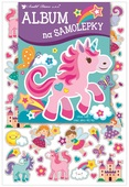 Sticker Album for girls+40 holographic stickers 16 x 29 cm
