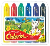 Colorix Crayons,  6 pcs in case