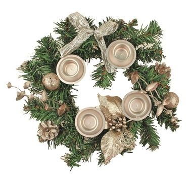 Advent Wreath 25 cm