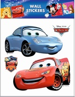 Wall Sticker 30x30 cm, Disney Cars