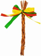 Wicker Easter Whipping Stick 15 cm