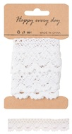 Decoration Lace String 1 m, White