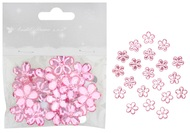 Flower with Double-sided Tape2 cm, 20 pcs, Pink