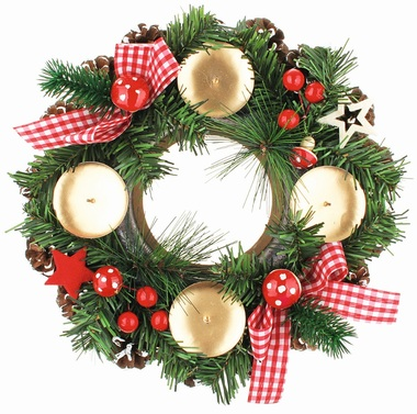 Advent Wreath 27 cm