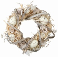 Easter wreath, natural 22 cm