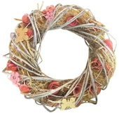 Wreath, Wicker, 31 cm
