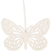 Hanging Wooden Butterfly 8 cm