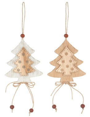 Hanging Wooden Tree 8 cm