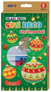 Glass Deco Christmas Set 6 colors 10,5 ml + 6 suncatchers
