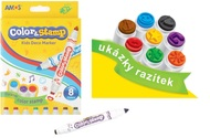 Color and Stamp Marker 6 colors