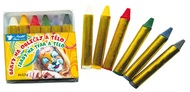 Face and Body Crayons 2,5 g, 6 pcs