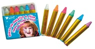 Face and Body Pearl Crayons 2,5 g, 6 pcs