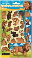 Puzzle Sticker 14 x 25 cm, Lion
