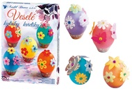 Easter Egg Decorating Set - Merry Flowers
