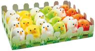 Easter Chicken 6 cm, 24 pcs (3 colours)