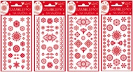 Egg Gel Stickers, Red, 19 x 9 cm