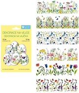 Egg Shrink Wraps, Fine Flowers,12 pcs