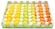 Easter Chicken 3 cm , 84 pcs , 3 colours