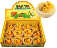 Easter Chicken 6 cm, 12 pcs in Box