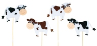 Cow on Stick 7,5 cm + Stick