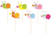 Snail on Stick 7 cm + Stick